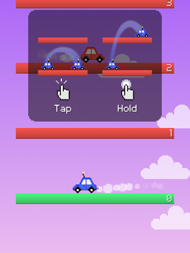 Download Jump car iPhone free game.