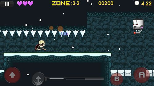 Screenshots of the Jump Jack game for iPhone, iPad or iPod.