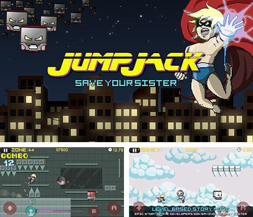 In addition to the game Twofold inc. for iPhone, iPad or iPod, you can also download Jump Jack for free.