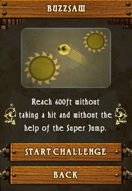Screenshots of the Jump O'Clock game for iPhone, iPad or iPod.