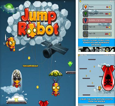 In addition to the game My very hungry caterpillar for iPhone, iPad or iPod, you can also download Jump Robot for free.
