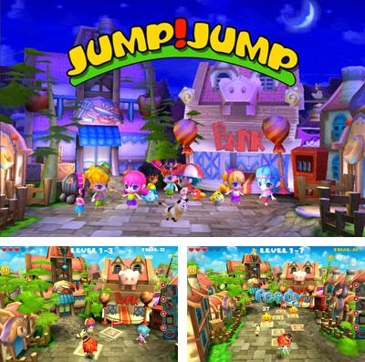 In addition to the game Flick Golf Extreme! for iPhone, iPad or iPod, you can also download JUMP?JUMP?3D for free.