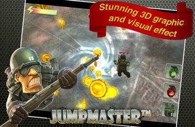 Screenshots of the Jumpmaster game for iPhone, iPad or iPod.