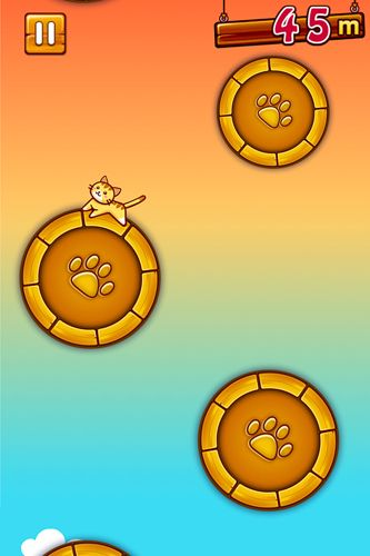 Descarga gratuita de Jump'n roll cat para iPhone, iPad y iPod.