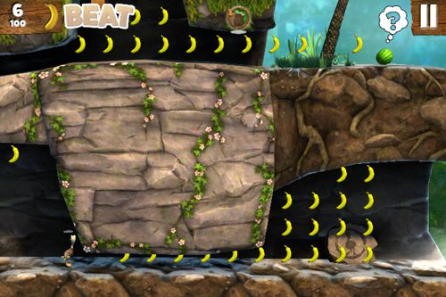 Screenshots of the Jungle beat game for iPhone, iPad or iPod.