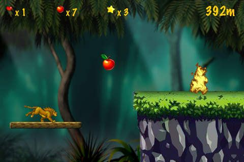 Download Jungle runner iPhone free game.