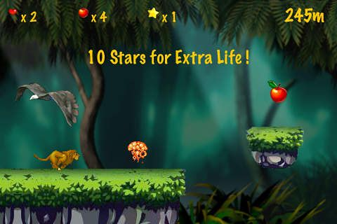 Free Jungle runner download for iPhone, iPad and iPod.