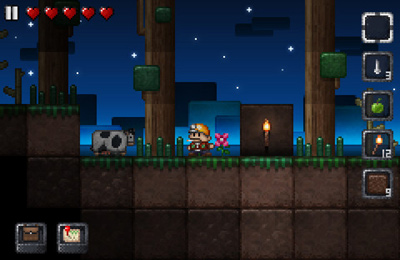 Screenshots of the Junk Jack game for iPhone, iPad or iPod.