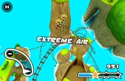 Download Jurassic 3D Rollercoaster Rush 2 iPhone free game.