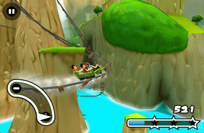 Free Jurassic 3D Rollercoaster Rush 2 download for iPhone, iPad and iPod.
