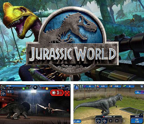 In addition to the game Santa vs Zombies 3D for iPhone, iPad or iPod, you can also download Jurassic world: The game for free.