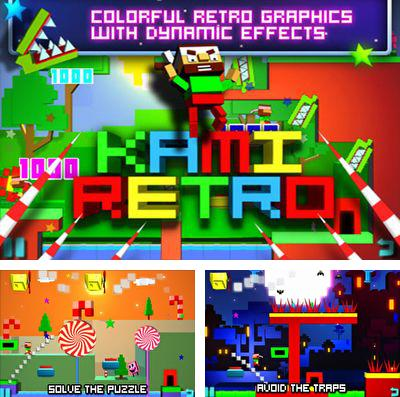 In addition to the game Crazy Cars - Hit The Road for iPhone, iPad or iPod, you can also download Kami retro for free.