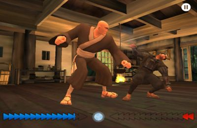Screenshots vom Spiel Battle Of The Saints für iPhone, iPad oder iPod.