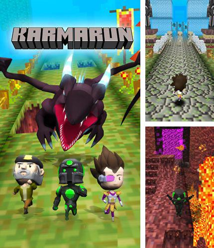 In addition to the game Krashlander: Ski, jump, crash! for iPhone, iPad or iPod, you can also download Karma run for free.