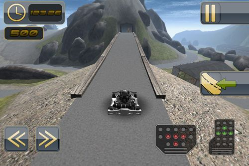 Screenshots of the Kart 3D Pro game for iPhone, iPad or iPod.