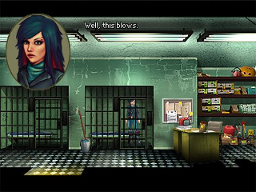 Screenshots vom Spiel Kathy Rain: A detective is born für iPhone, iPad oder iPod.
