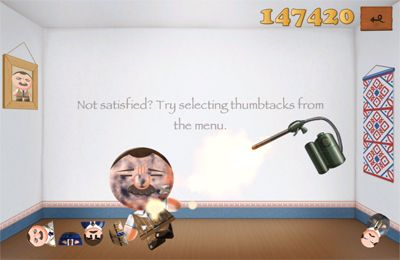 Screenshots do jogo Kick the Boss para iPhone, iPad ou iPod.