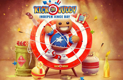 Kick the Buddy Independence Day
