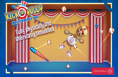 Игра Kick the Buddy Independence Day для iPhone