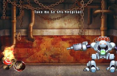 Écrans du jeu Kick the Buddy: No Mercy pour iPhone, iPad ou iPod.