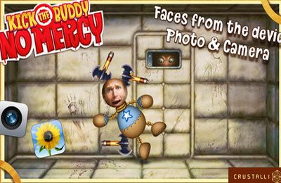 Screenshots vom Spiel Kick the Buddy: No Mercy für iPhone, iPad oder iPod.
