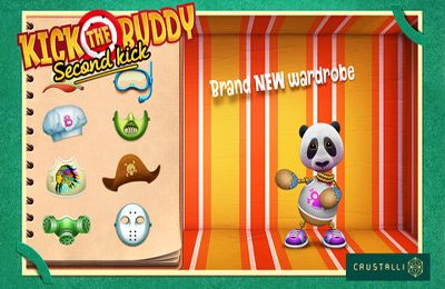 Écrans du jeu Kick the Buddy: Second Kick pour iPhone, iPad ou iPod.