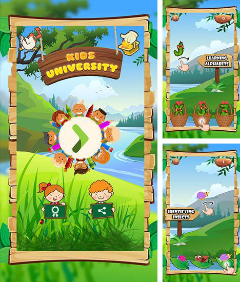 In addition to the game Doodle Tank Battle for iPhone, iPad or iPod, you can also download Kids university for free.