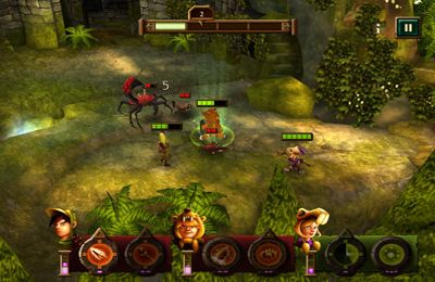 Screenshots of the Kids vs Goblins game for iPhone, iPad or iPod.