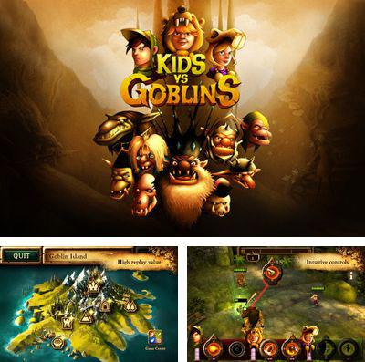 In addition to the game Van Pershing – The Showdown for iPhone, iPad or iPod, you can also download Kids vs Goblins for free.