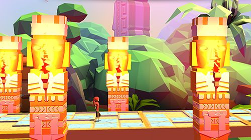 Screenshots vom Spiel Kidu: A relentless quest für iPhone, iPad oder iPod.