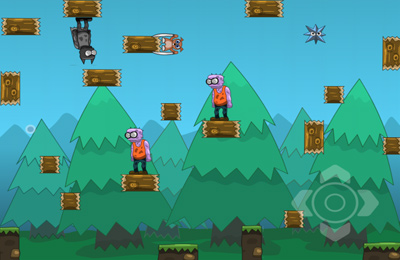 Capturas de pantalla del juego Kill all Zombies para iPhone, iPad o iPod.