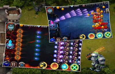 Screenshots of the Kill Devils - kill monsters to resist invasion & unite races! game for iPhone, iPad or iPod.