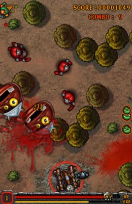 Écrans du jeu Kill Kill Monster Campaign pour iPhone, iPad ou iPod.