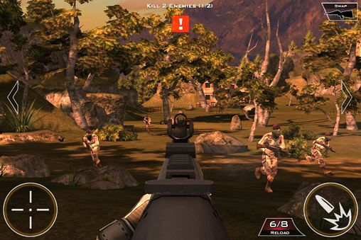Écrans du jeu Kill shot pour iPhone, iPad ou iPod.