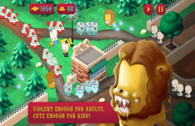 Screenshots vom Spiel Kill the Clowns für iPhone, iPad oder iPod.