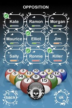Download Killer Pool iPhone free game.