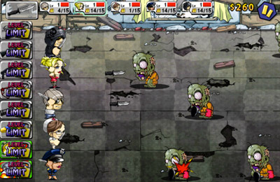 Screenshots of the KillingZone Defense game for iPhone, iPad or iPod.