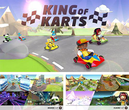 In addition to the game Smart truck - cargo delivery for iPhone, iPad or iPod, you can also download King of karts: 3D racing fun for free.