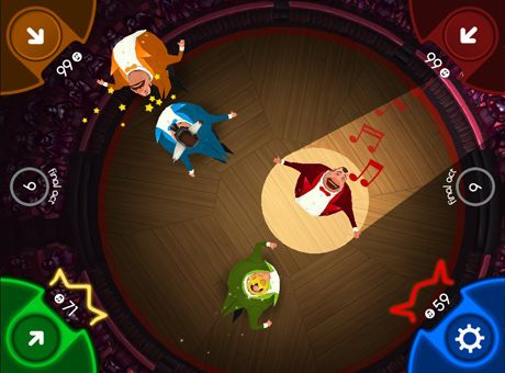 Screenshots of the King of Opera game for iPhone, iPad or iPod.