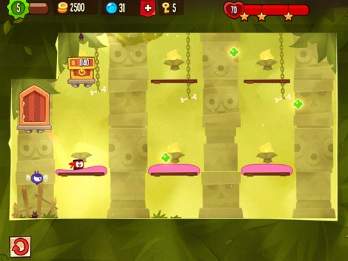 Screenshots vom Spiel King of thieves für iPhone, iPad oder iPod.