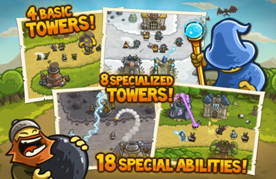 Download Kingdom Rush iPhone free game.
