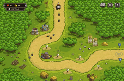 Screenshots of the Kingdom Rush game for iPhone, iPad or iPod.