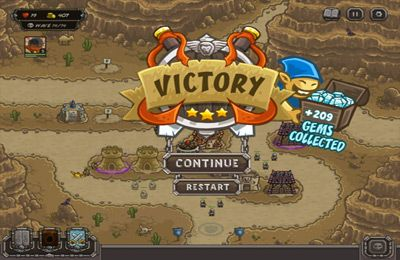 Геймплей Kingdom Rush Frontiers для Айпад.