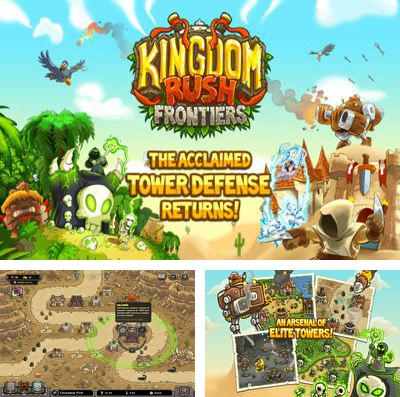 In addition to the game Axon Runners for iPhone, iPad or iPod, you can also download Kingdom Rush Frontiers for free.