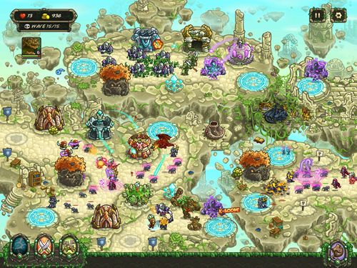 Screenshots vom Spiel Kingdom rush: Origins für iPhone, iPad oder iPod.