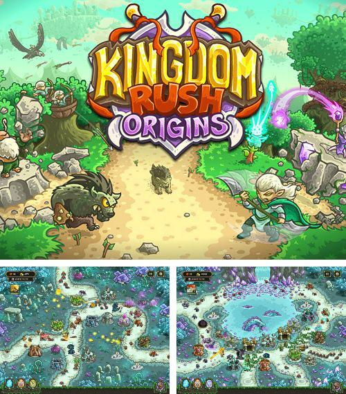 In addition to the game Toca: Kitchen monsters for iPhone, iPad or iPod, you can also download Kingdom rush: Origins for free.