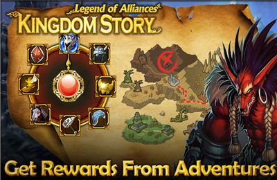 Скачать Kingdom Story XD: Legend of Alliances на iPhone бесплатно