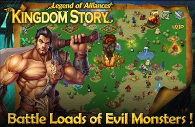 Kostenloser Download von Kingdom Story XD: Legend of Alliances für iPhone, iPad und iPod.