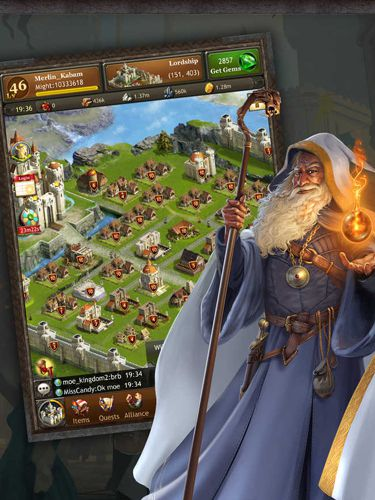 Download Kingdoms of Camelot: Battle for the North iPhone free game.