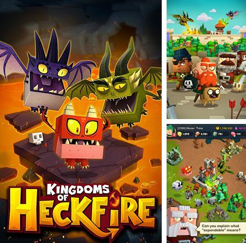 In addition to the game Heroes: With fire and sword for iPhone, iPad or iPod, you can also download Kingdoms of heckfire for free.